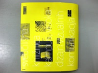 Department for design of visual communication brochure  -back