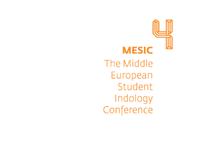 Middle European Student indology Conference identity