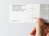 Homeplus business card