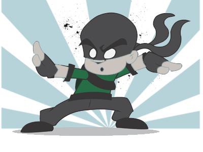 Ninja D Animation
