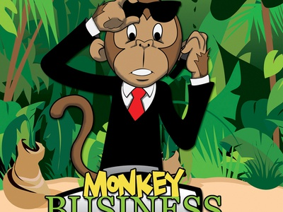 Monkey Business Label