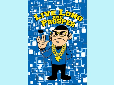 Spock character design illustration mascot illustrator vector art graphics cartoon anime animation