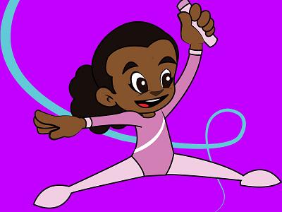 Shayla Character design cartoon animation motion graphics digital graphics illustrator vector art ninja character design game sprite sprite gaming