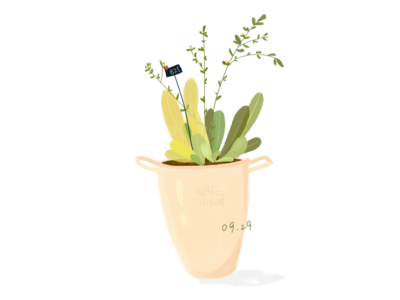 Daily practice_Photoshop_Green plants