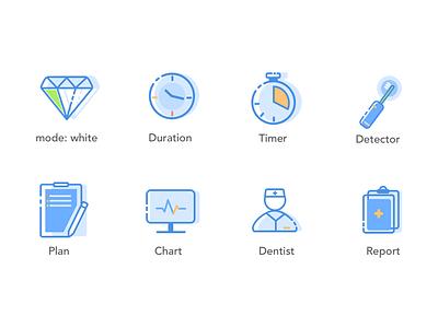 Dental Icons icons ui