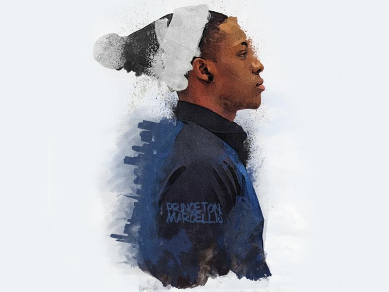 More Than Meets The Eye (Single Design) music rapzilla graphic design watercolor paint art hip hop rap texture