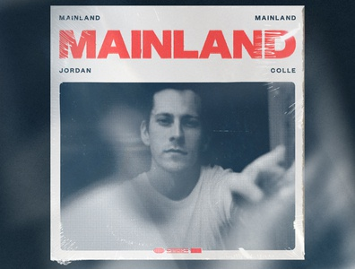 Mainland Album Artwork record music album cover album art graphic design
