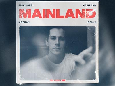 Mainland Album Artwork record music album cover album art graphic design