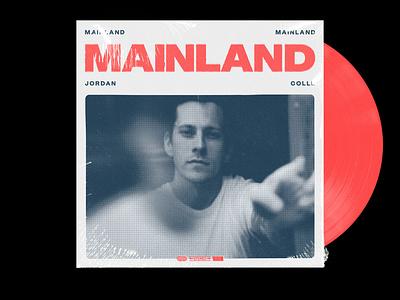 Mainland – Album Artwork halftone music packaging music album cover art album cover design album cover album art album artwork graphic design