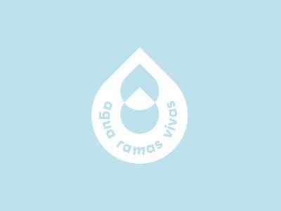Agua Ramas Vivas dominican republic beverage water branding minimal design graphic design logo