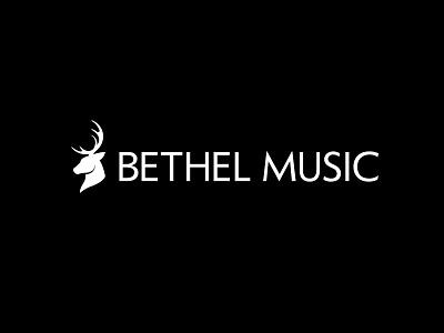 Bethel Music Rebrand music record label brand brand identity logo deer buck typography type design branding