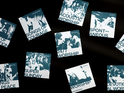Bethel Music Playlist Covers cover art playlist branding design graphic design