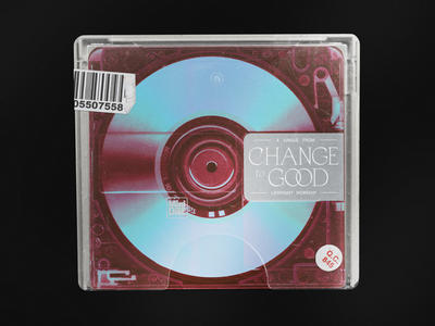Change to Good — Unused Artwork typography worship cd packaging music album art cover art minidisc