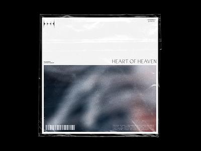 Heart of Heaven whitespace record layout church music worship typography album cover album art