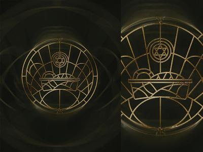 The Manger worship bethel music jesus christ jesus manger nativity christmas stained glass design badge church illustration typography graphic design