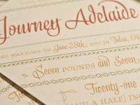 Journey Adelaide