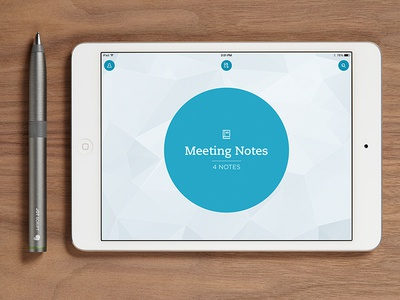 Penultimate 6 ipad evernote penultimate stylus pen circle navigation blue redesign