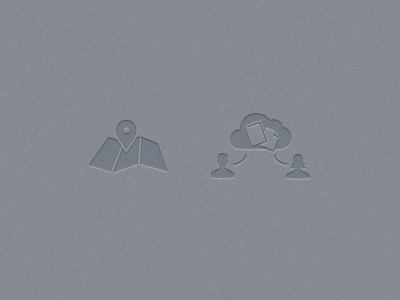 Rejected Icons icons letterpress