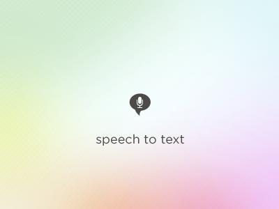 Speech To Text icon icon speech to text microphone audio speech speech bubble