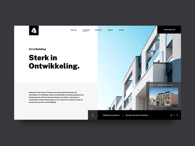Art of Building architechture sketchapp art direction graphic design real estate web design webdesign web ux ui landing page design landing page landingpage construction website construction company construction