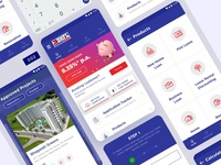 DHFL Banking App Design