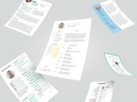 curriculum vitae designs