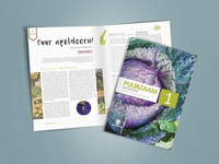 Magazine for a organic shop