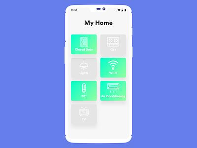 Daily UI challenge #021 — Home Monitoring Dashboard daily challange daily dashboard home monitoring ux ui