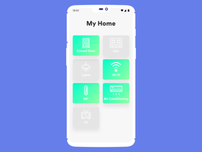Daily UI challenge #021 — Home Monitoring Dashboard daily challange daily dashboard home monitoring ux ui