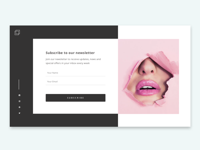 Daily UI challenge #026 — Subscribe daily challange daily ux ui form subscribe