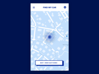 Daily UI challenge #029 — Map