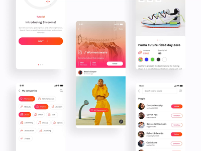 A social platform for sharing products & experiences you love interface app mobile inspiration animated design animation applicaiton ux ui