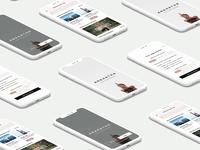 Anahata Yoga App Screens