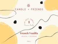 Candle + Friends Labels