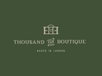 Thousand The Boutique Logo Design