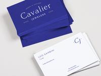 Cavalier Jewelers Business Card