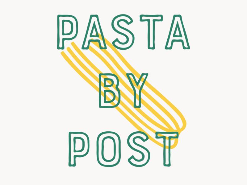 Logo V2 london pasta logo pasta branding handmade playful logo playful branding graphic design logo design pasta illustration logotype logo