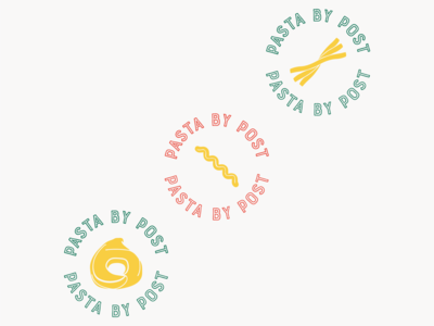 Circle Logos for Pasta by Post