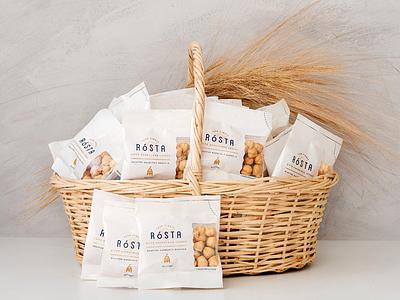 Rosta Hazelnut Packaging minimal packaging packaging design snack packaging nut packaging fındık hazelnut packaging hazelnut