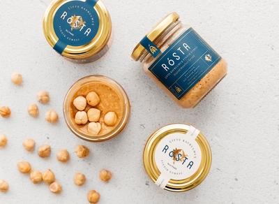 Rosta Hazelnut Spread Packaging
