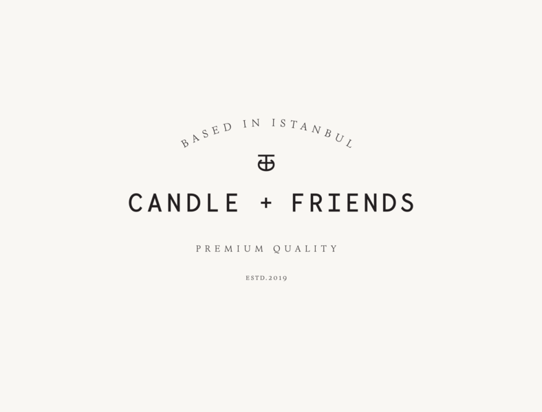 Candle + Friends Logo Designs