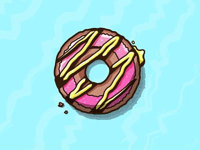 Donut texture design illustration vector ishu illustrator donut