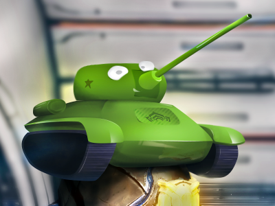 Like a tank illustration