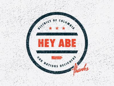Hey Abe buddy