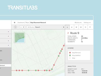Stopping it out transit public transportation map maps visualization vizualizations transitlabs cartography economy