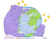 Purple Polar Bears