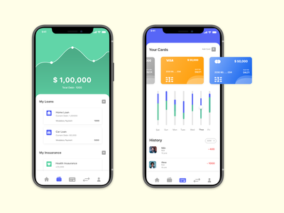 banking app concept product design banking userexperience mobile ui interaction design creative uidesign design app interaction ui