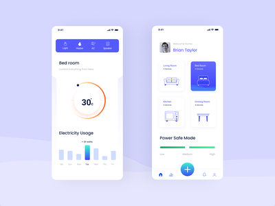 Smart Home interaction design mobile ui ui  ux design smart ui designer design uidesign app interaction ui ux