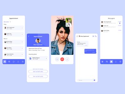 Doctor Appointment App Concept ux figma design uidesign app mobile ui ui designer interaction