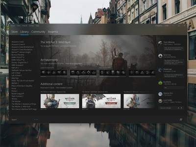 Steam redesign concept